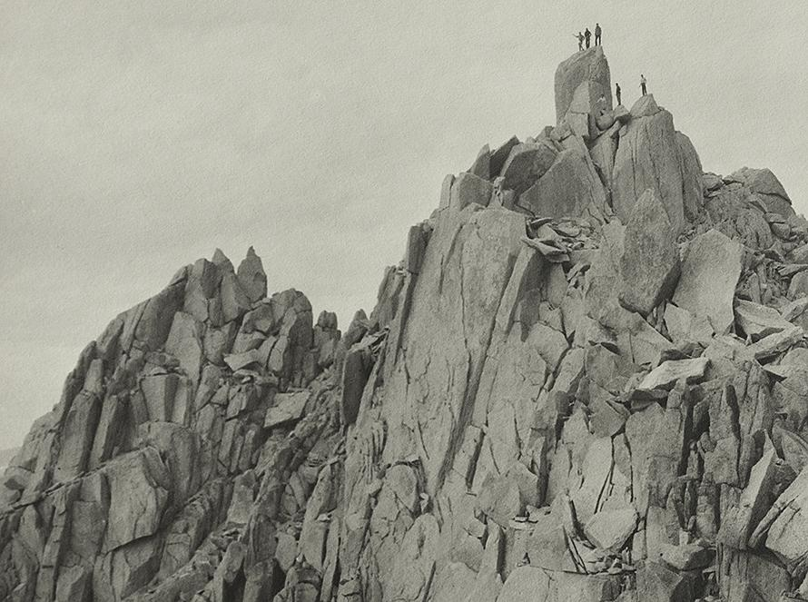 """On The Hermit,"" 1930, Original Photograph by Ansel Adams"