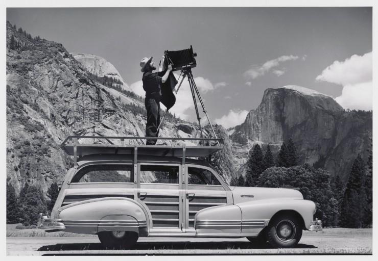 Ansel and his Cadillac